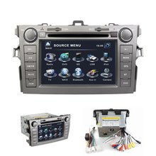 HOT 7'' HD digital touch screen car DVD player with GPS for Toyota