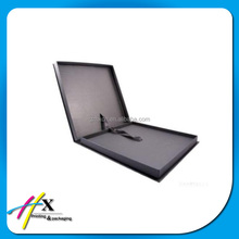 brand shirt packaging paper box with ribbon, A4 size cardboard box