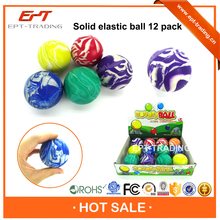 Hot selling kids bounce back ball 5.5cm high bouncing ball for sale