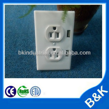 Angola receptacles power outlets electric switch socket with CE certificate