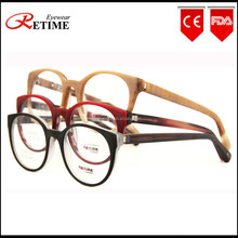 2015 New China Wholesale Fashion Big Acetate Optical Frame Women Eyeglasses Frame (AC-678)