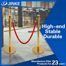 Manufacturer Safety Control Velvet Rope Stanchion, Theater/Concert Crowd Control Barrier
