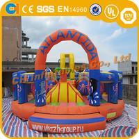 Cute animal inflatable cartoon playground on sale,inflatable indoor playground,inflatable playground rentals