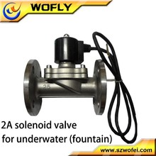 flange connection 220 volt 3 inch soleniod valve DN80