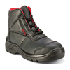 Simple design factory wholesales black rubber sole safety shoes/safety boots