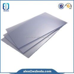 China colored cast pmma acrylic sheet, transparent colored plastic sheets