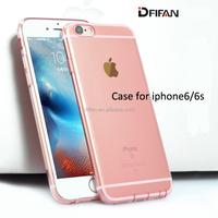 Bulk cell phone case Rose Gold Ultra slim TPU Phone Case For iphone6S