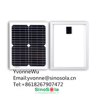 High performance 5W SinoSola Mono Solar Panel with TUV/IEC/CE/CEC