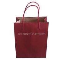 2016 New Design Custom Printed greaseproof paper bag for food