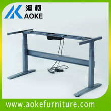 healthcare ergonomic height adjustable table with dual motor