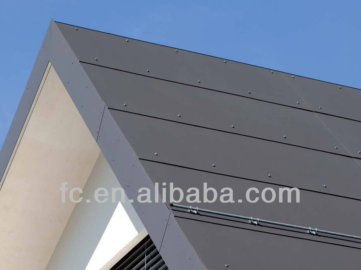 Fireproof Board Fiber Cement Exterior Wall Panel Cement Board Exterior Wall Cladding