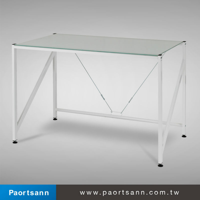 Person Office Desk / Computer Table - Buy Glass Office Desk,2 Person