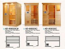 2015 luxury wood sauna steam room