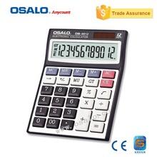 Multi-Color 12 Digital Table Calculator desktop Calculator for Promotion