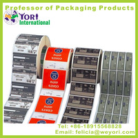 Yori High quality printing label pvc sticker epoxy sticker