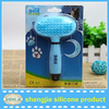 Alibab hot sale pet grooming brush and silicon hair brush for pet