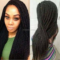 alibaba express kinky twist braided lace wig made from china