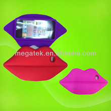 Mobile phone case phone accessories Cute 3d sexy lips case for iphone 4 5 5s