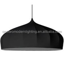 Fabric&Iron good quality hot sell modern pendant light/ceiling lamp
