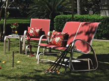 2015 Cheap Relax used rattan garden furniture chairs and table