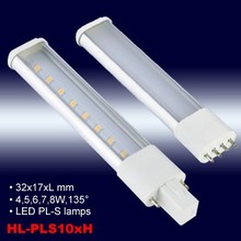Patented G23/2G7 4W 5W 6W 7W 8W LED PL-S lamps