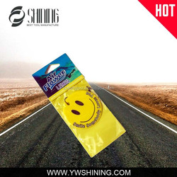 ADVERTISING PROMOTIONAL LOGO PRINTED CUSTOM CAR AIR FRESHENER