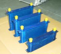 universal auto aluminum oil cooler