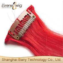 Alibaba express Indian 100% virgin curly straight clip in hair extension
