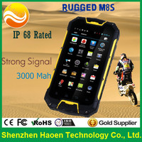 2015 Cheapest 4.5 inch MTK6572 Dual Core Android 4.2 IP 68 Rated Rugged Military Smartphone with 3G WIFI GPS