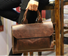 HOT! Men's Working Bags PU Leather Laptop Bag Men's leather Briefcase