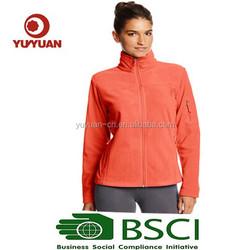 2015 new design hot sale women's camo softshell jacket cheap price