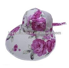 2014 fashion beach hats for women summer cap
