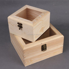 Generous Wooden eternal Life flower box with Glass