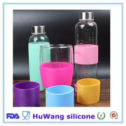 Factory eco-friendly silicone rubber cup sleeve