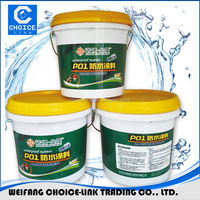 Non solidify rubber bitumen waterproofing coating/metal waterproofing paint