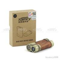 Best healthy cigarette wooden retro box mod Kamry 100 watts high watts big vapor box mod