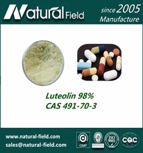 Luteolin 98% Healthy Natural From gmp Manufacturer