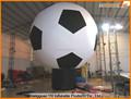 Futebol inflável atração balão à terra