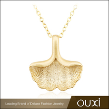 Fashion925 Sterling Silver Women Accessories Gold Plated Necklace Jewelry for Party Y10037