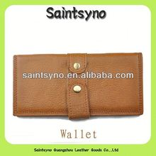 13104 Casual leather mens checkbook wallets