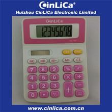 small size 8 digital desktop calculator for promotional gift