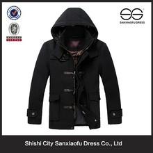 New Design Man Winter Fashion Long Coat Hot Korean Cashmere Wool Coat