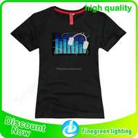 LED Sound Activated T-Shirt