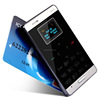 DIHAO Wholesale 2014 NEW!! 6.5mm Ultra Thin AIEK M3 Card mobile phone pocket phone mini music mobile FM BULETOOH mp3 GPRS phone