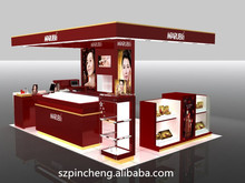 fashionable jewelry cosmetic store display design furniture