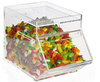 Super market chain store Clear Acrylic cute Candy Display box