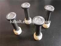 Ceramic ferrule stud welding by ASW D1.1 shear connectors