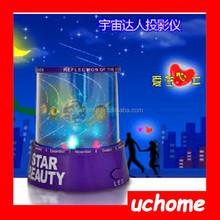 UCHOME Cheap Wholesale Amazing Night Sky Star Projector Beautiful Colorful Stars Cosmos Holographic Laser Stars Projector