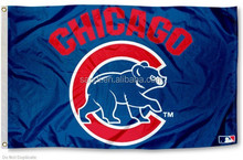 Chicago Cubs Flag - Walking Bear national car hand country flag banner