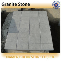 g654 bush hammered granite for the outdoor paving
